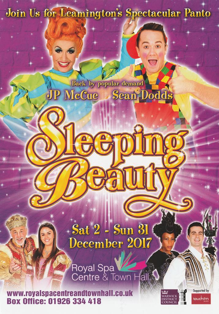 Sleeping Beauty Leamington Spa